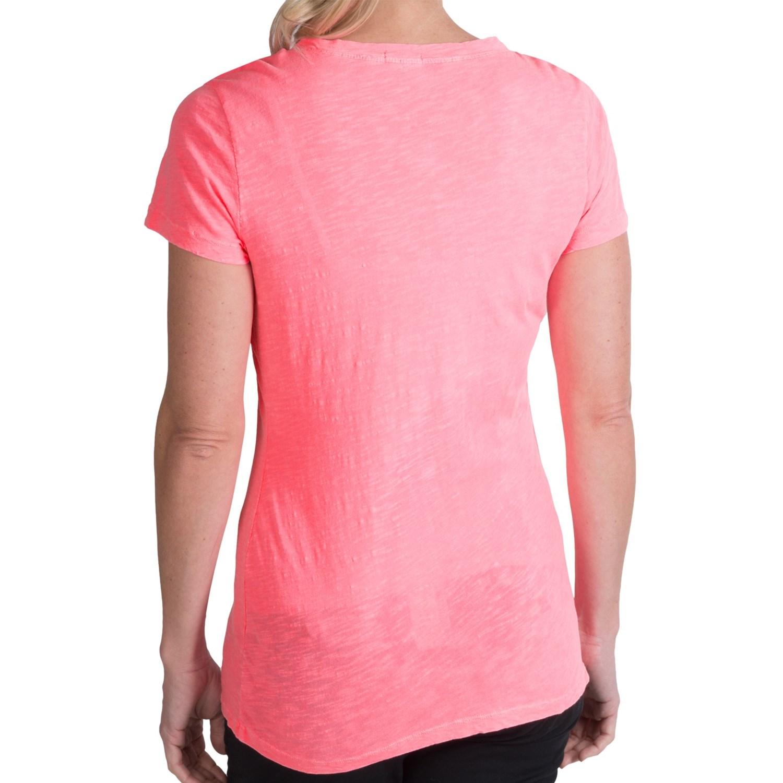 Dylan silky slub t shirt for women 8334n save 78 for What is a slub shirt