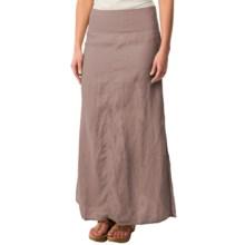 dylan Slit Maxi Skirt (For Women) in Malt - Closeouts