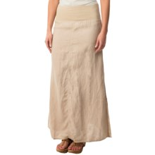 dylan Slit Maxi Skirt (For Women) in Vintage Khaki - Closeouts