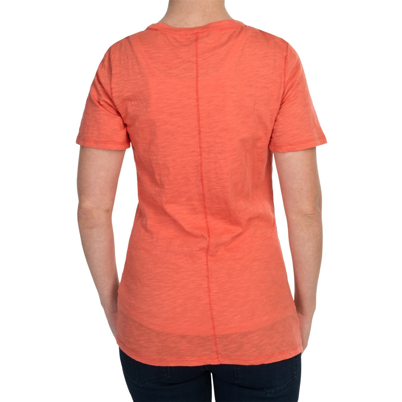 Dylan slub jersey t shirt for women 6747t save 83 for What is a slub shirt