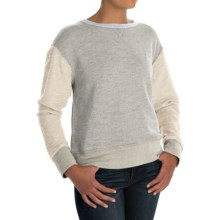 dylan Slubby French Terry Sweatshirt (For Women) in Heather - Closeouts