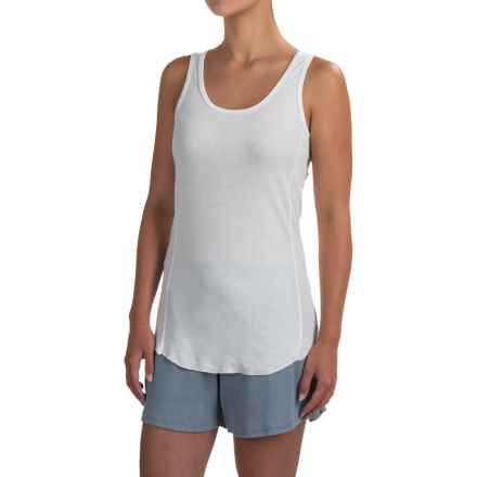 dylan Soft-Knit Tank Top (For Women) in Faded White - Closeouts