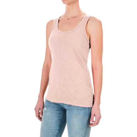 dylan Soft Slub Tank Top (For Women) in Blush - Closeouts