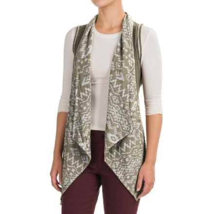 dylan Southwest Burnout Vest (For Women) in Cargo - Closeouts