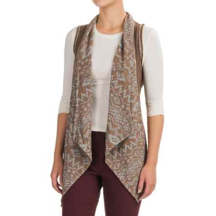 dylan Southwest Burnout Vest (For Women) in Cocoa - Closeouts