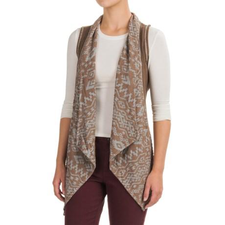 dylan Southwest Burnout Vest (For Women) in Cocoa