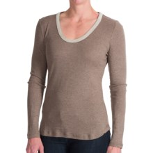 dylan Sparkle-Collar Shirt - Rayon-Cotton, Long Sleeve (For Women) in Vintage Brown - Closeouts