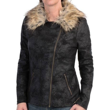 dylan Stretch Motor Jacket (For Women)