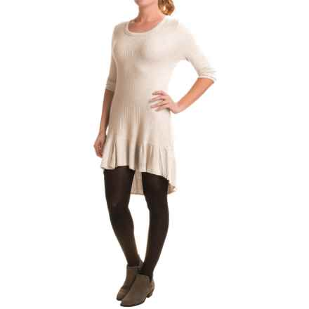 dylan Thermal Knit Shirt - Long Sleeve (For Women) in Vintage Oat - Closeouts