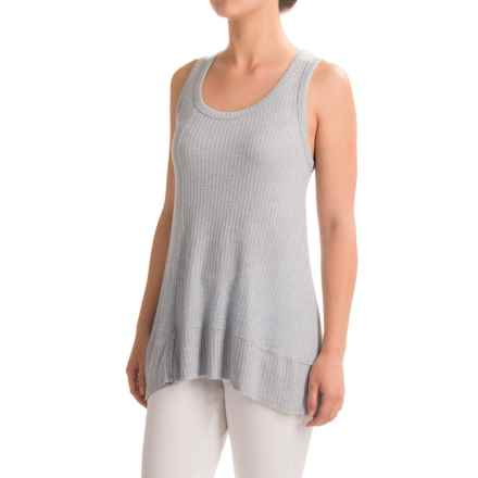 dylan Thermal Rib Tank Top - Stretch Rayon (For Women) in Chambray - Closeouts
