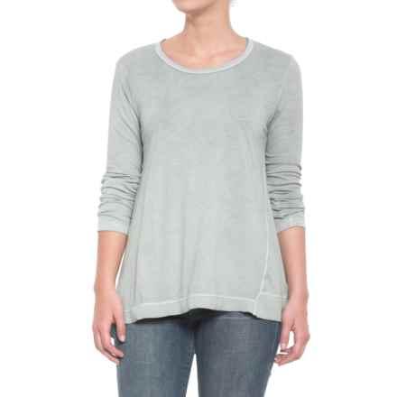 dylan Topanga T-Shirt - Long Sleeve (For Women) in Carbon - Closeouts