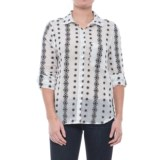 dylan Vintage Embroidered Shirt - Long Sleeve (For Women)