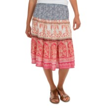dylan Vista Canyon Field Skirt - Rayon  (For Women) in Red Bleached - Closeouts