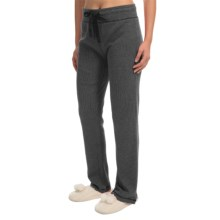 dylan Waffle-Knit Pajama Pants (For Women) in Vintage Black - Closeouts