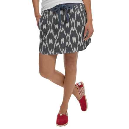 dylan Wanderer Skirt - Cotton Canvas (For Women) in Vintage Black - Closeouts