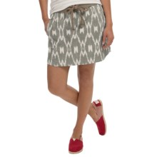 dylan Wanderer Skirt - Cotton Canvas (For Women) in Vintage Cargo - Closeouts