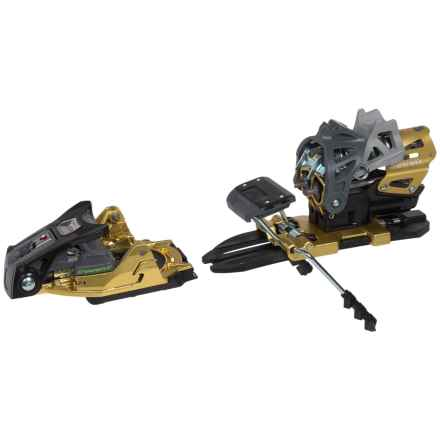 Dynafit Beast 16 Ski Bindings with Brakes in Black/Gold - Closeouts
