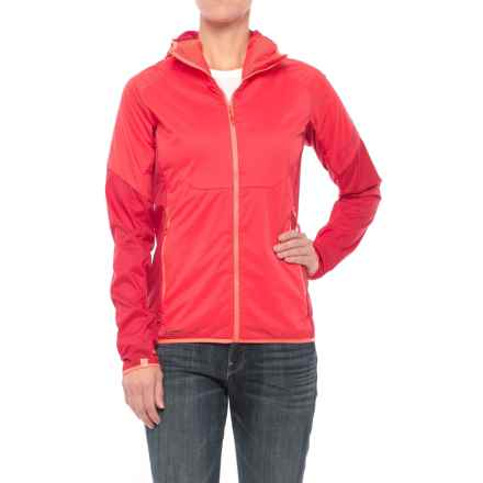 Dynafit Elevation Polartec® Alpha® Hooded Jacket - Insulated (For Women) in Hibiscus - Closeouts