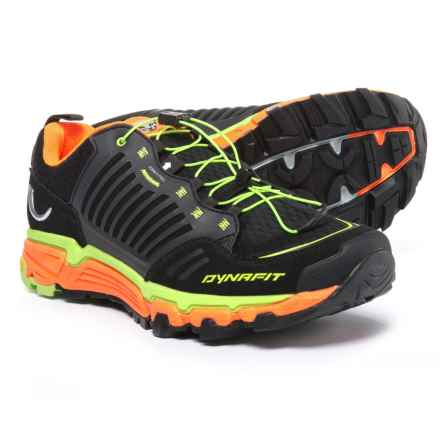Dynafit Feline Ultra Trail Running Shoes (For Men) in Black/Fluo Yellow - Closeouts
