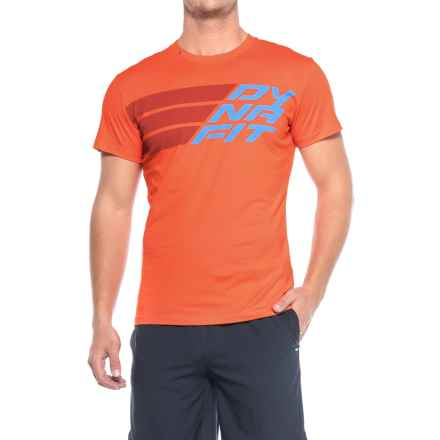 Dynafit First Track Co T-Shirt - Short Sleeve (For Men) in General Lee - Closeouts