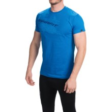Dynafit First Track Co T-Shirt - Short Sleeve (For Men) in Legion Print 3 - Closeouts