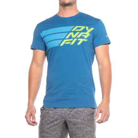 Dynafit First Track Co T-Shirt - Short Sleeve (For Men) in Voltage - Closeouts