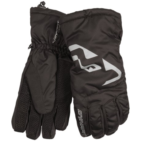 Dynafit Manaslu Gore-Tex® XCR® Gloves - Waterproof, Insulated (For Men and Women) in Black/Silver