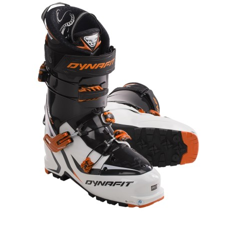 Dynafit One PX-TF Ski Boots (For Men and Women) in White/Orange