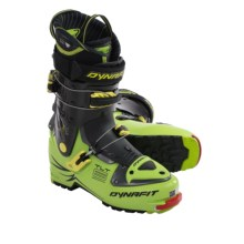 Dynafit TLT 6 High-Performance CR Ski Boots (For Men) in Cactus Green/Light Yellow - Closeouts