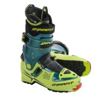 Dynafit TLT 6 Mountain CR Ski Boots (For Men) in Cactus Green/Petrol - Closeouts