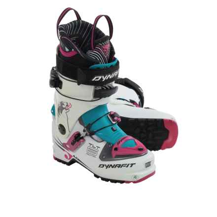 Dynafit TLT 6 Mountain CR Ski Boots (For Women) in White/Azalea - Closeouts