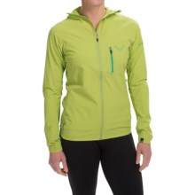Dynafit Trail Jacket - Windproof (For Women) in Cactus - Closeouts