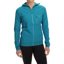 Dynafit Trail Jacket - Windproof (For Women) in Chrystal - Closeouts