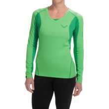 Dynafit Trail ThermoCool® T-Shirt - Long Sleeve (For Women) in Aurora/5530 - Closeouts