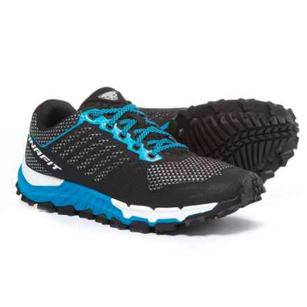 Dynafit Trailbreaker Trail Running Shoes (For Men) in Black/Sparta Blue - Closeouts