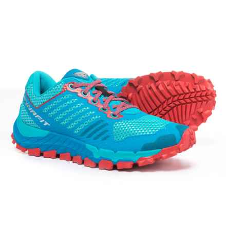 Dynafit Trailbreaker Trail Running Shoes (For Women) in Atomic Blue/Hibiscus - Closeouts