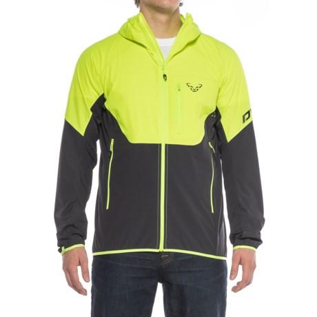 Dynafit Transalper Light Dynastretch Jacket (For Men) in Fluo Yellow