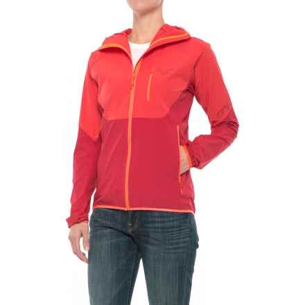 Dynafit Transalper Light Dynastretch Jacket (For Women) in Hibiscus - Closeouts