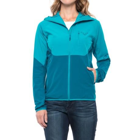 Dynafit Transalper Light Dynastretch Jacket (For Women) in Ocean