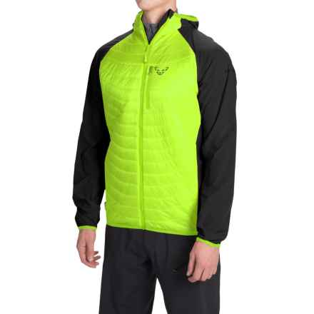 Dynafit Traverse PrimaLoft® Jacket - Insulated (For Men) in Fluo Yellow - Closeouts