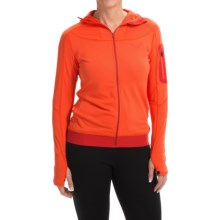 Dynafit Traverse Thermal Hooded Jacket (For Women) in Fluela - Closeouts