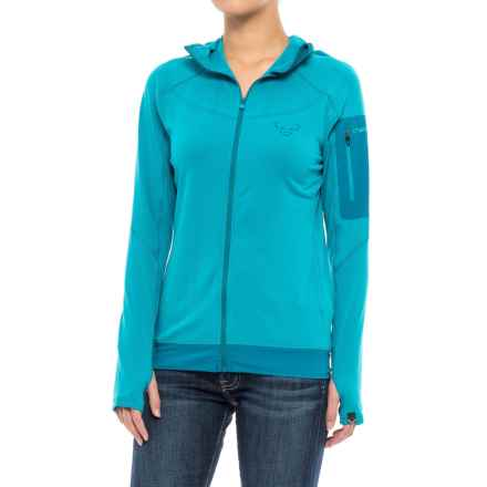 Dynafit Traverse Thermal Hooded Jacket (For Women) in Ocean - Closeouts