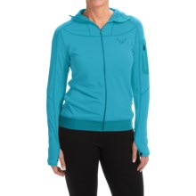 Dynafit Traverse Thermal Hooded Jacket (For Women) in Silvretta - Closeouts