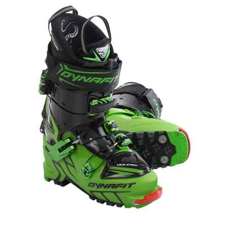 Dynafit Vulcan TF Alpine Touring Ski Boots (For Men) in Matt Green/Carbon - Closeouts