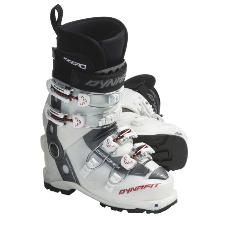 Dynafit ZZero4 PX-TF AT Ski Boots (For Women) in Pearl/Red