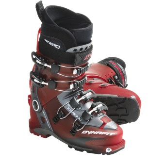 Dynafit ZZero4 U-TF AT Ski Boots (For Men) in Red/Black
