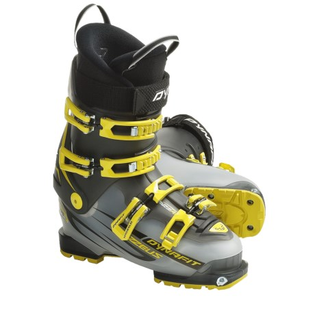 Dynafit ZZeus TF-X AT Ski Boots (For Men) in Transparent White/Anthrazite