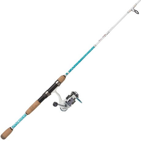 Eagle Claw Addictive Fishing Mogan Spinning Rod and Reel Combo - 2-Piece, 7', Fast in See Photo