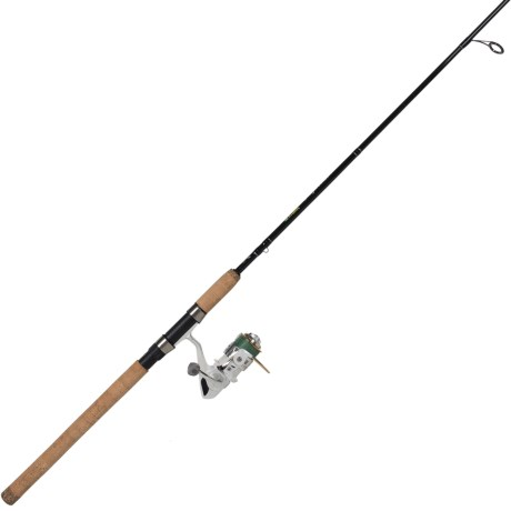 "Eagle Claw Addictive Fishing Mogan Spinning Rod and Reel Combo - 2-Piece 7'9"", Medium in See Photo"