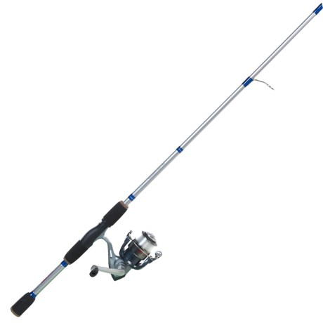 Eagle Claw Golden Eagle Spinning Rod and Reel Combo - 2-Piece, 6', Medium-Light in Asst